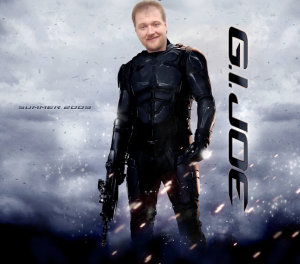 andy as GI JOE